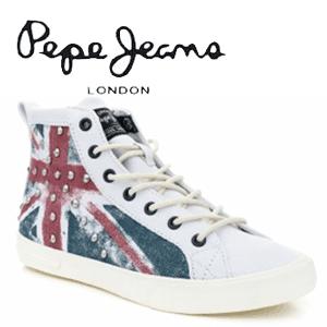 Bascheti Pepe Jeans Union Jack de dama si fete