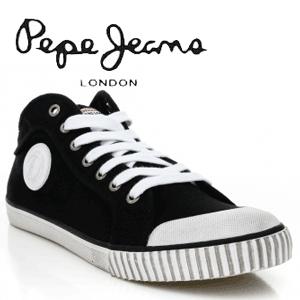Bascheti Pepe Jeans culoare neagra pentru barbati