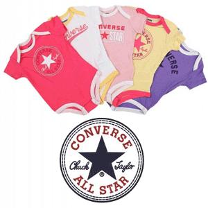 Body-uri pentru bebelusi fetite si baieti marca Converse