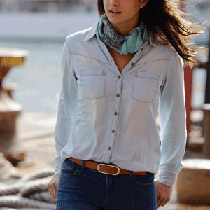 Camasile Jeans de dama. Eleganta denimului
