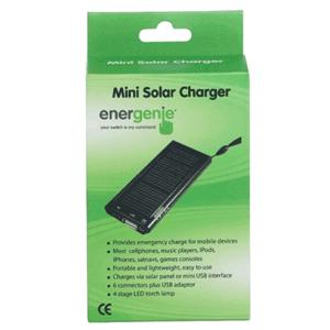 Charger Solar Energenie Portabil