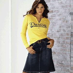 Fusta de jeans John Baner