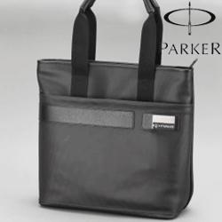 Geanta business Parker din piele
