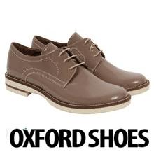 Pantofi dama Oxford din piele naturala, model Reina