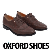 Pantofi oxford din piele naturala Mara