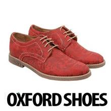 Pantofi Oxford dama Red Flowers
