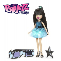 Papusa Bratz Funk and Glow Jade Love