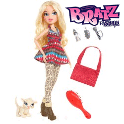 Papusa Bratz in the Wild - Cloe cu animalut