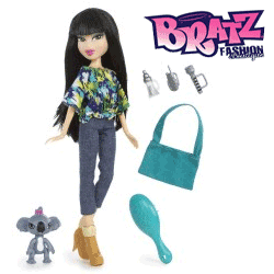 Papusa Bratz in the Wild Love Jade