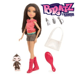 Papusile Bratz - Yasmina in the Wild