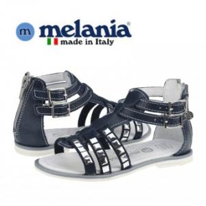 Sandale din piele Melania pentru fetite