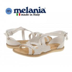 Sandale Melania Bianco pentru fete