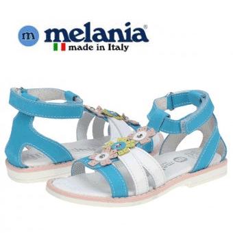Sandale Melania din piele pentru fete si fetite