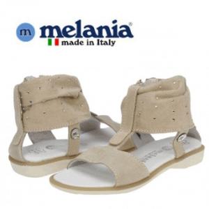 Sandalute din piele pentru fetite, marca Melania