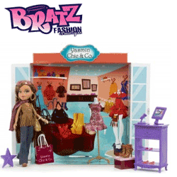 Set papusi Bratz Boutique - Yasmina Chic