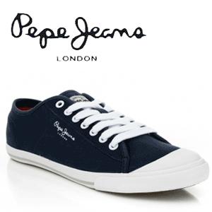 Tenisi barbati Pepe Jeans Match culoare bleu