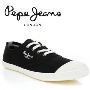 Tenisi Pepe Jeans pentru barbati Match negri