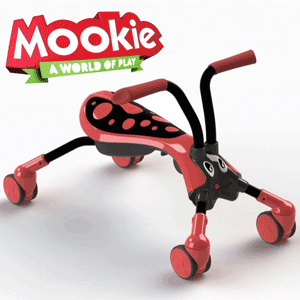 Tricicletele de calarit Scramble Bug pentru copiii cu varsta 1-3 ani