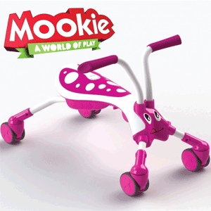 Tricicleta pliabila Scramble Bug Candy de calarit bebe si copii 1-3 ani