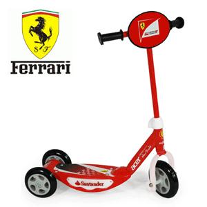 Trotineta cu 3 roti si leduri Ferrari