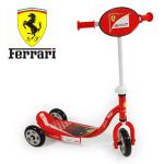 Trotineta 3 roti baieti 3-5 ani Ferrari