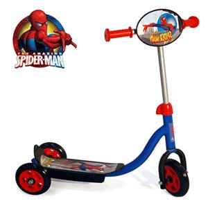 Trotineta cu 3 roti Spiderman pentru baieti