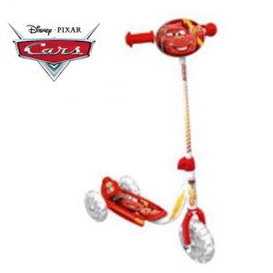 Trotineta cu 3 roti Disney Cars baieti 3-6 ani