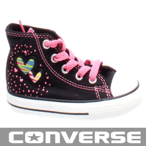 Bascheti Converse pentru fetite 1-3 ani 711325