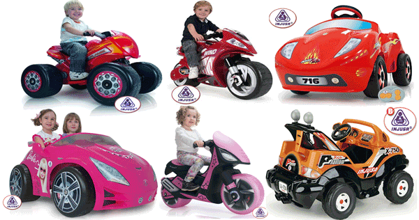 INJUSA - Vehicule electrice cu acumulatori pentru copii