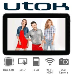 Tablete romanesti UTOK 1000D cu procesor Dual Core