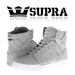 Incaltaminte Supra Skytop Grey White