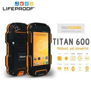 Telefon mobil ultra rezistent Titan 600 TecMobile Gorilla Glass 2
