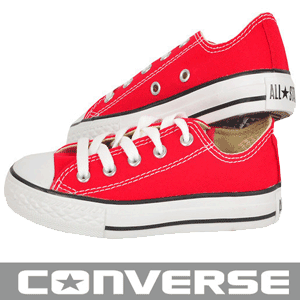 Tenisi Converse Chuck Taylor All Star OX rosii pentru copii