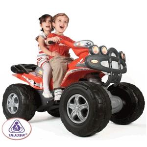 Masinute, motociclete vehicule electrice cu acumulatori si jucarii de exterior INJUSA