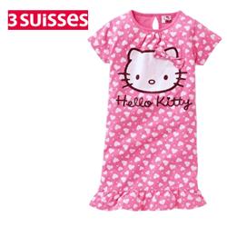 Camasa de noapte Hello Kitty pentru fetite