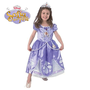 Costume pentru fetite 2-6 ani: Printesa Sofia Intai