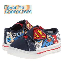 Tenisi copii mici - Superman - Incaltaminte cu personajele din desene animate