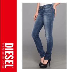 Jeansi dama Diesel Getlegg Skinny 601I
