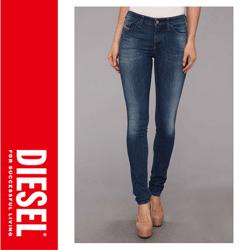Jeansi dama Diesel Skinzee Skinny 826F inchidere cu nasturi