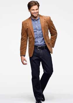 Moda smart casual - Sacouri din raiat