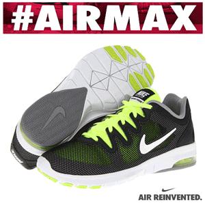 Adidasi dama Nike Air Max Fusion Black Volt