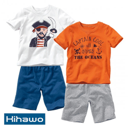 Pijama Pirates din jerseu pentru baieti
