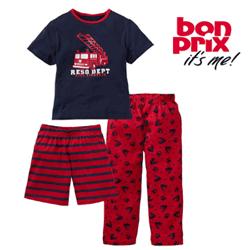 Pijamale din 3 piese pentru baieti