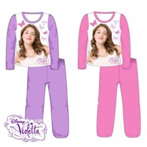 Pijamale bumbac Disney Violetta pentru fetite
