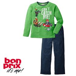 Pijamale din bumbac pentru baieti 6 - 14 ani