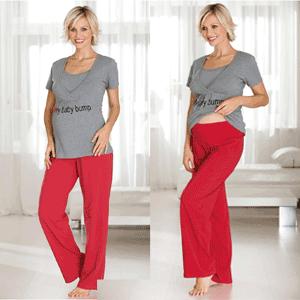 Pijamale pentru femei insarcinate si pentru alaptare