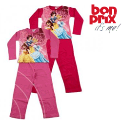 Pijama Disney Princess fetite 6 ani