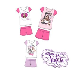 Pijamale de vara Disney Violetta pentru fetite