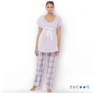 Pijama Cocoon pentru femei insarcinate