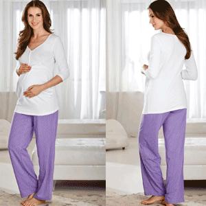 Pijamale si camasi de noapte pentru gravide